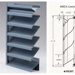 Extruded Drainable Louvers